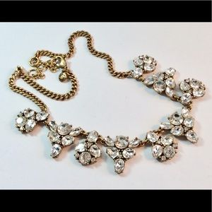 J.CREW Gorgeous Crystal Statement Necklace